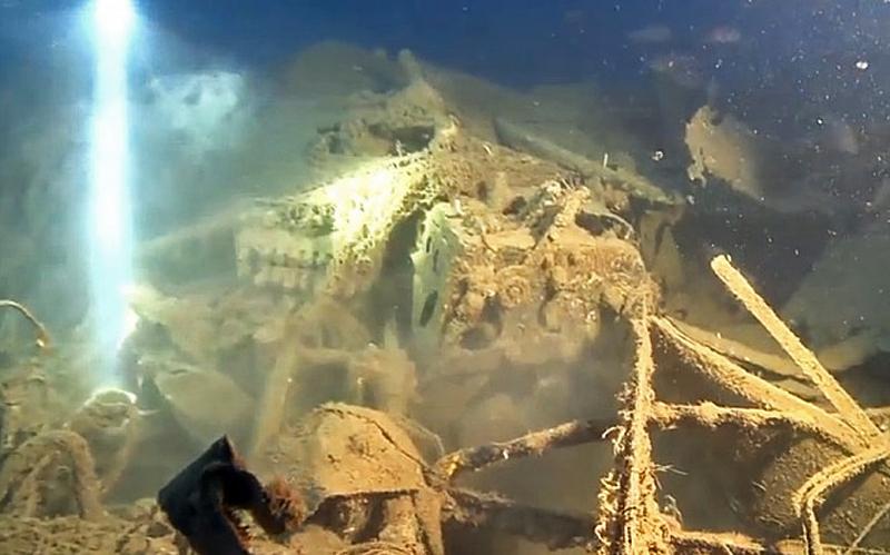 «Летающая крепость» найдена у берегов Сицилии