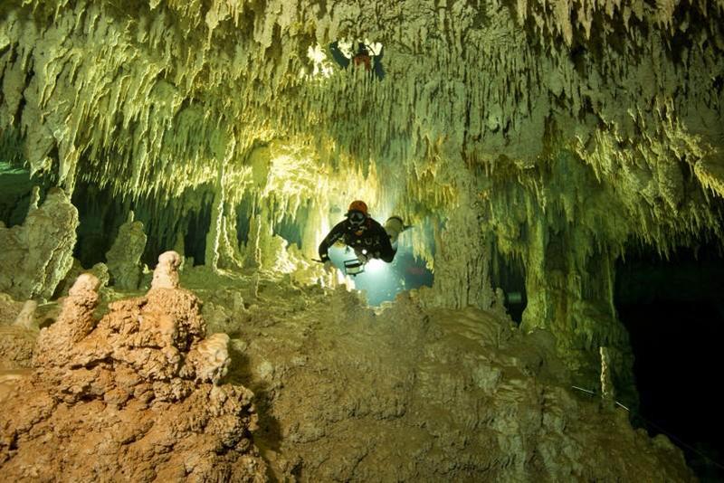 Найдена самая длинная в мире система подводных пещер