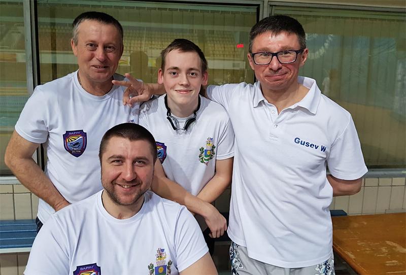 Парафридайверы на Чемпионате Москвы – начало положено