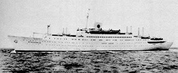 Шведский лайнер \'Стокгольм\'