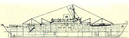 Схема лайнера \'Стокгольм\'