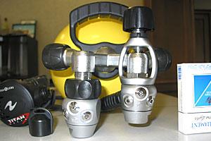 Один и тот же регулятор установленный на вентиле имеет разный габарит