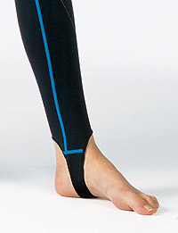 Гидрокостюм Aqua Lung Skin Suit: лямки на ступнях