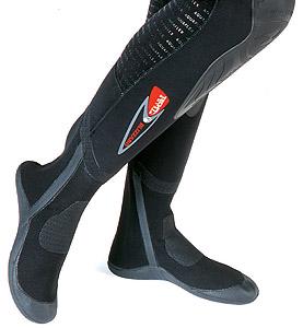 Гидрокостюм Aqua Lung Blizzard: встроенные носки