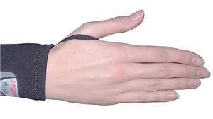 Гидрокостюм Aqua Lung Skin Suit: петли для большого пальца