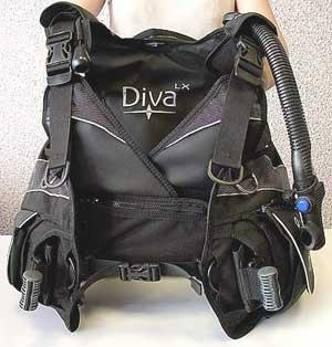 Жилет-компенсатор Aqua Lung - SeaQuest Diva LX (Рис.11)