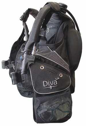 Жилет-компенсатор Aqua Lung - SeaQuest Diva LX (Рис.3)