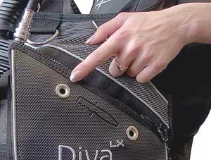 Жилет-компенсатор Aqua Lung - SeaQuest Diva LX  (Рис.5)
