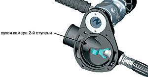 Сухая камера второй ступени регулятора Aqua Lung Mistral