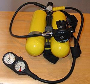 Баллонный блок \'Микро\' с регулятором Aqua Lung
