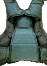 Увеличенная поверхность мягких накладок на спинке