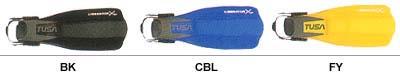 Цветовая палитра ласт Tusa Liberator X-ten SF-5000