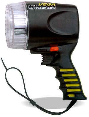 Аккумуляторный фонарь Technisub Mini Vega Rechargeable