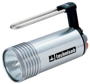 Аккумуляторный фонарь Technisub Mini Alulight 20