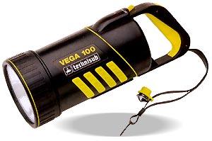 Аккумуляторный фонарь Technisub Vega 100