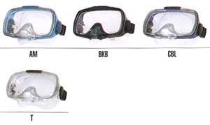 Цветовая палитра масок TM-8000Q