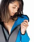 Плюшевое внутреннее покрытие синего цвета