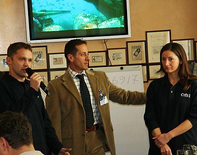 Подводная охота - лидер команды Team O.ME.R. Марко Барди в Москве