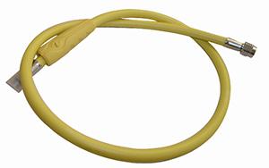 Шланг среднего давления 100 см (желтый)