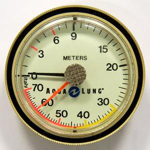 Снаряжение для дайвинга - Глубиномер (модуль) Aqua Lung