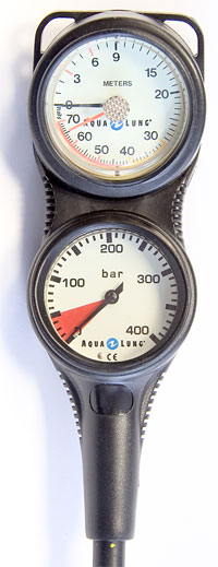 Снаряжение для дайвинга - 2-х приборная консоль Aqua Lung