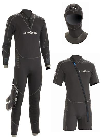 Мокрый гидрокостюм Aqua Lung Balance Comfort 2014, комплект 5,5 мм