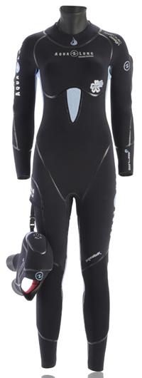 Полусухой для дайвинга iceland comfort aqua lung