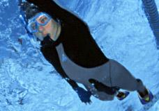Ласты тренировочные для бассейна Aqua Sphere Microfin HP