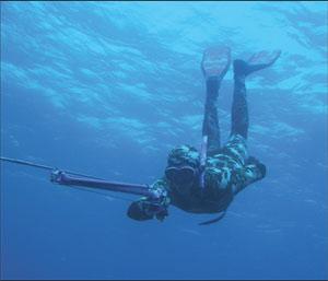 Подводная охота. Интервью с Марко Барди