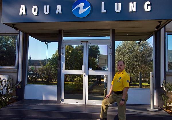 Путешествие во Францию в гости к Aqua Lung