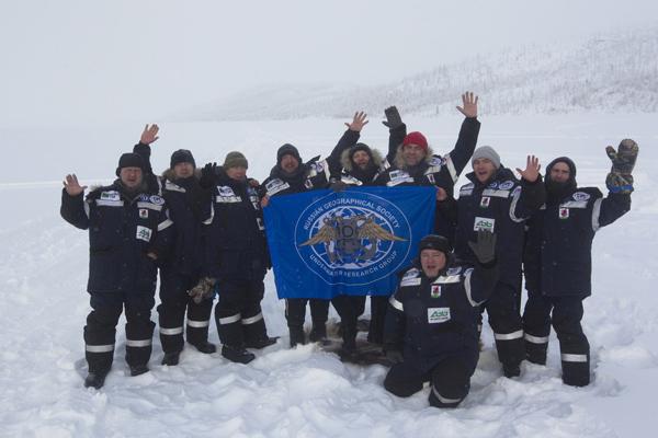 Подводная экспедиция Полюс холода