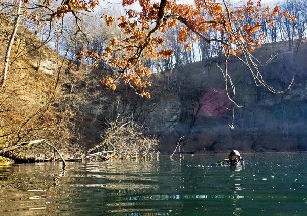 Тайны озера Круглое. Дайвинг в горах Кавказа.