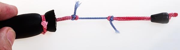 Учимся вязать узлы...