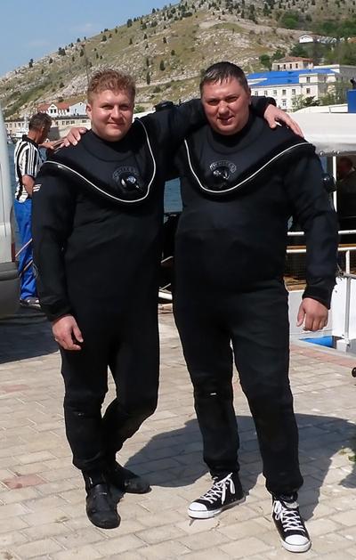 Сухой гидрокостюм Fusion Whites - полугодовой тест на Черном море