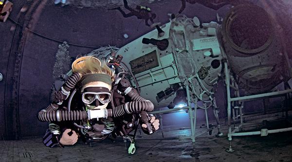 Дайвинг. Ребризеры в гидрокосмосе.