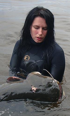 Подводная охота - прекрасный выбор для прекрасного пола