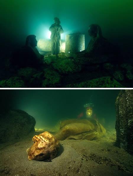 Дворец Клеопатры в Александрии (Египет)