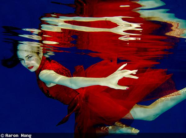 Фэшн-фотография под водой - как это работает