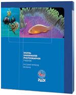 "Учебник PADI Digital Underwater Photographer с планшетом ""Баланс белого"""