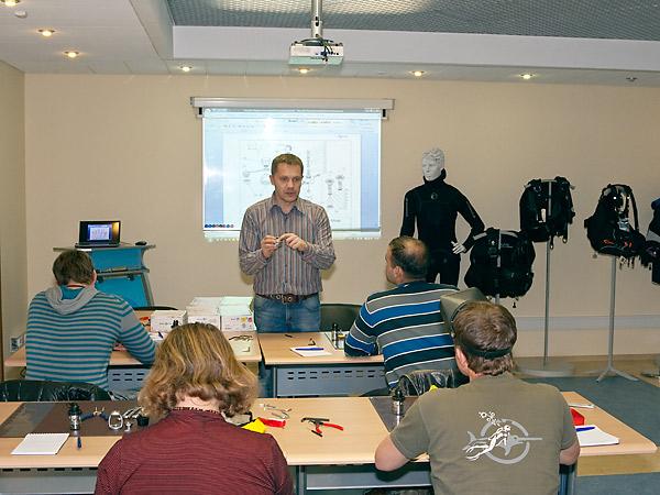 Продолжаются семинары по снаряжению Aqua Lung – для профессионалов и любителей