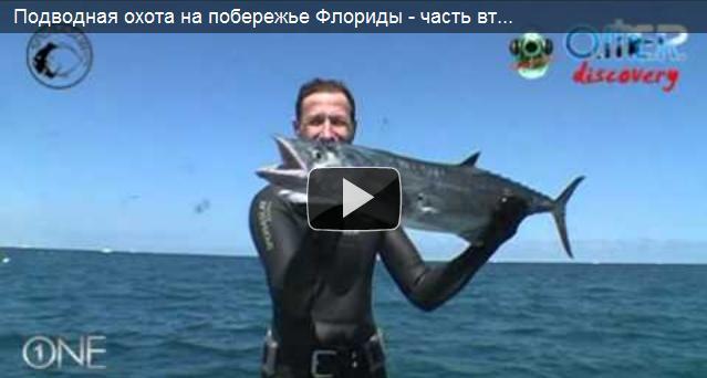 Подводная охота на побережье флориды