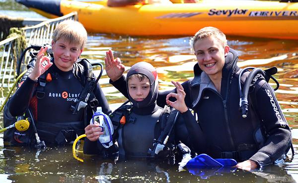 Фотоотчет о работе летнего водного лагеря \'Море зовет\'