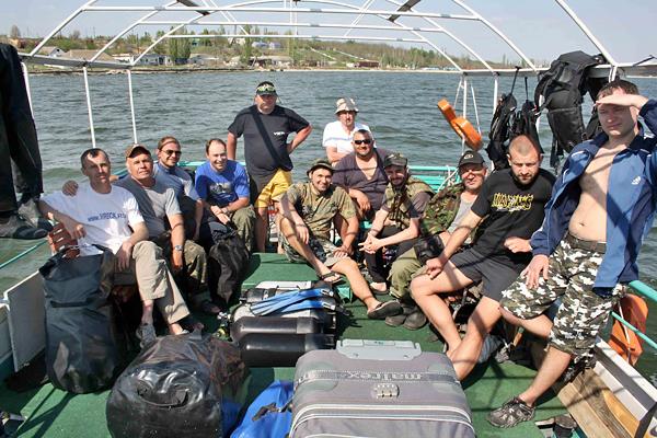Итоги очередной подводно-археологической экспедиции на Украине