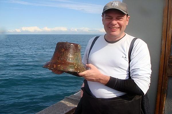 Дайвер идентифицировал судно, затонувшее 109 лет назад