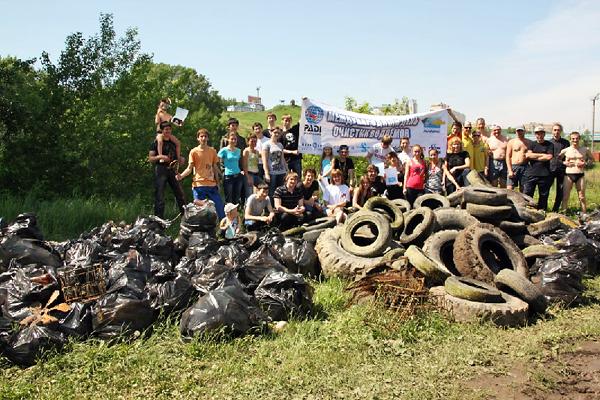 Международный день очистки водоёмов отмечает свой 10-летний юбилей!