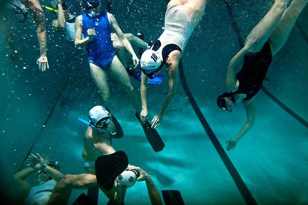 Подводное регби в Санкт-Петербурге выходит на международный уровень