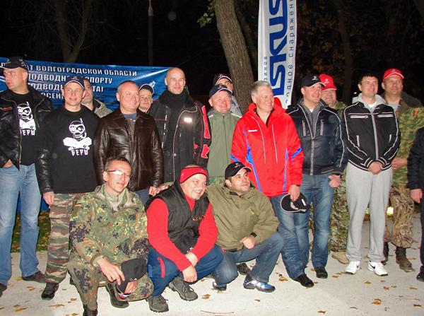 Состоялся I этап Чемпионата Волгоградской обл. по подводному спорту