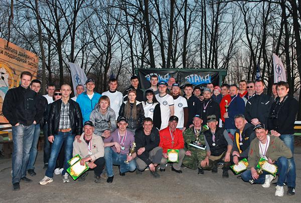 Итоги соревнований по подводной охоте Открытие сезона Весна-2012