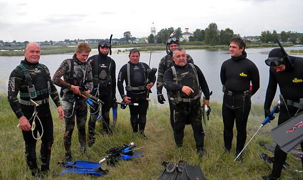В городе Сарове прошел Чемпионат по подводной охоте