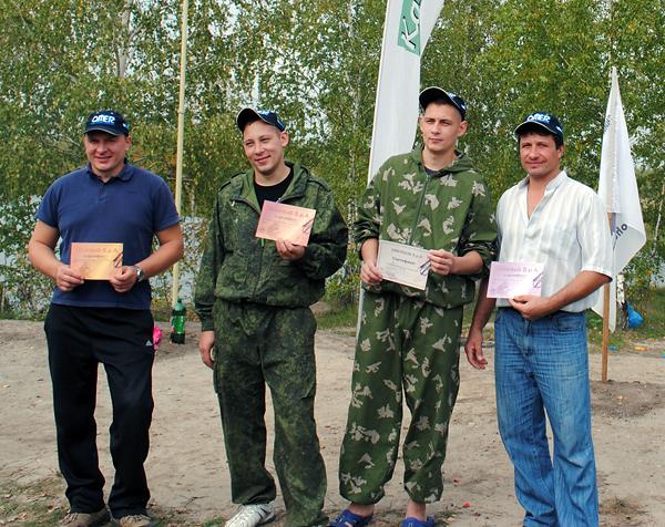 Завершились соревнования Тульского клуба подводных охотников